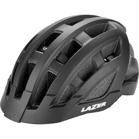 Lazer Compact Deluxe Kask rowerowy, matte black